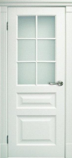 Белая дверь межкомнатная