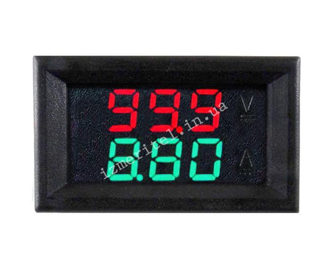 Цифровой вольтметр амперметр DC 0-100V 10A