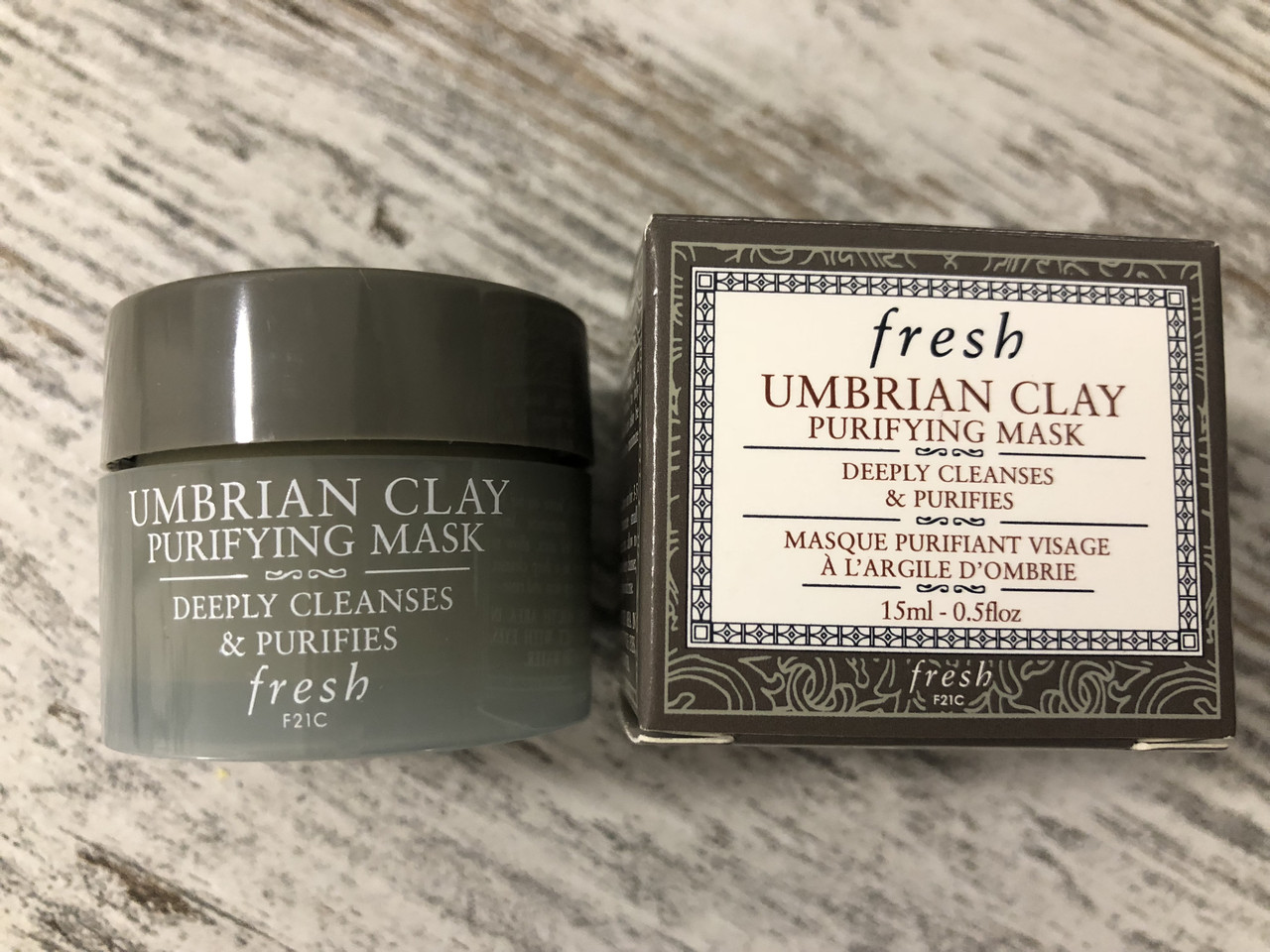 Глиняная очищающая маска для лица Fresh Umbrian Clay Purifying Mask