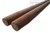 Кий деревянный диаметр 25 мм, высота 1,2 м