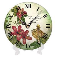 Часы настольные круглые For my best friend 18 см (CH18_F_15S052)