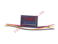 Цифровой вольтамперметр DC 0-200V 10A, фото 1