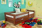 Ліжко дерево Альф односпальне 90х200 (Арбор), фото 2