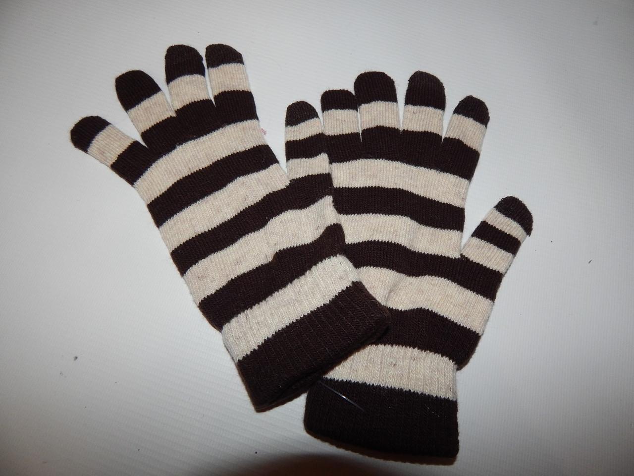 Перчатки женские трикотажные р.S (6) 048PGZ