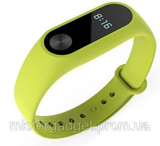 Запасной ремешок браслет для Mi Band M2 Зеленый