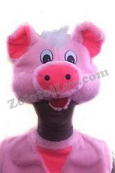 Карнавальная маска Свинья