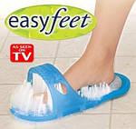 Массажные тапочки для душа с пемзой Simple Slippers, фото 4