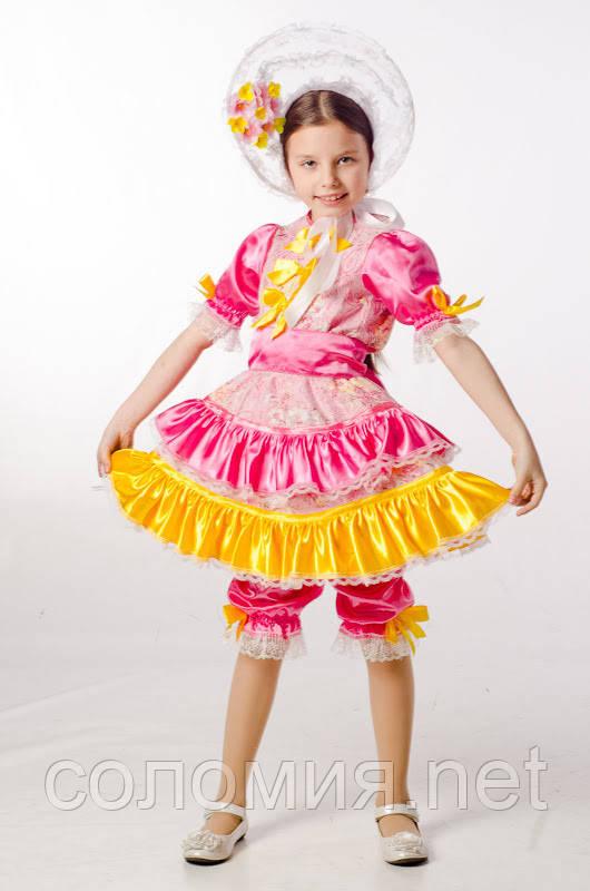 Детский карнавальный костюм для девочки Кукла 104-140р