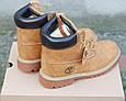 Мужские Зимние Ботинки в стиле Timberland Светло-коричневые, фото 8