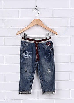Штаны Prenatal 6-9 month (68 cm) синий (F523TR578DB00S_Jeans)