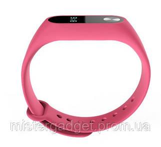 Запасной ремешок браслет для Mi Band M2 Розовый