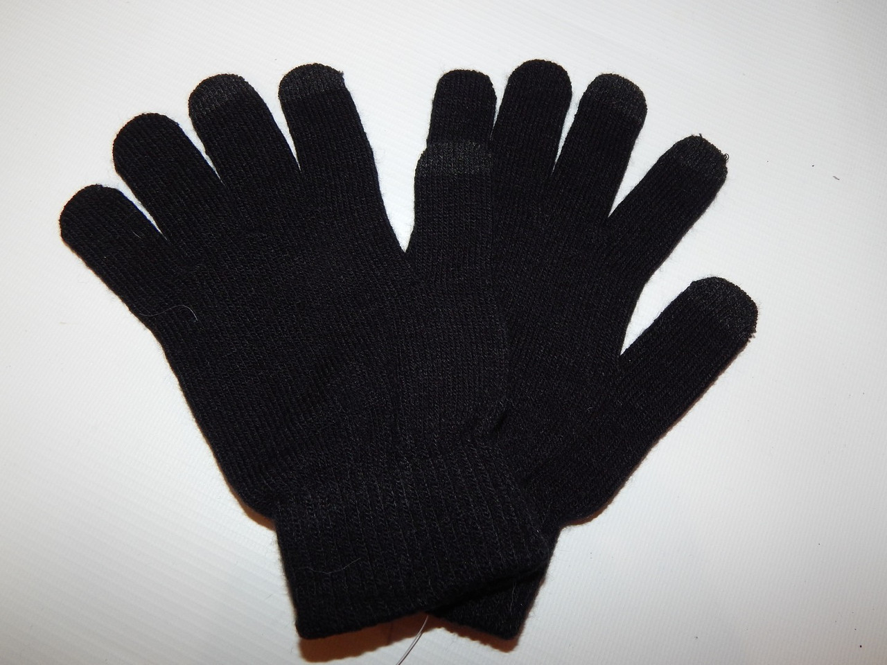 Перчатки женские трикотажные сенсорные р.М (6) 050PGZ