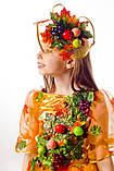 Детский карнавальный костюм для девочки Осень урожайная 122-140р, фото 2