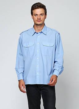 Рубашка Canda 46 Голубой (CANB_Blue)