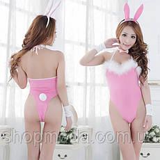 Костюм кролика. Игровой костюм зайчика. Сексуальный ролевой костюм для взрослых., фото 3