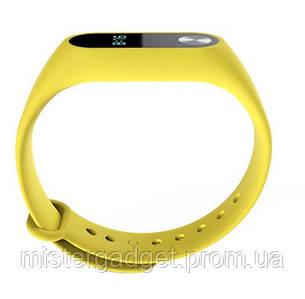 Запасний ремінець браслет для Mi Band M2 Жовтий