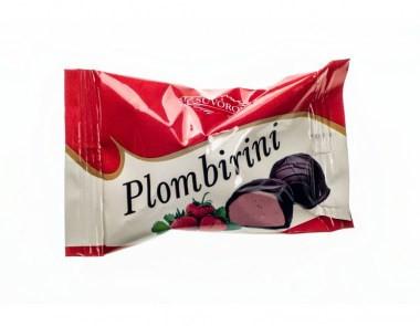 Конфеты Пломбирини клубничная 2,5кг. ТМ Суворов