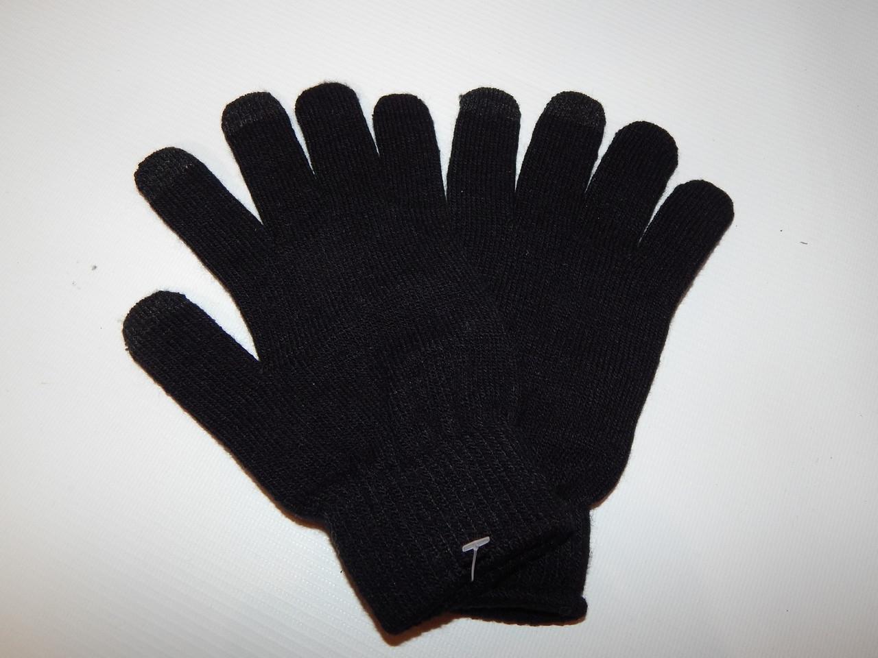Перчатки женские трикотажные сенсорные р.S (6) 051PGZ
