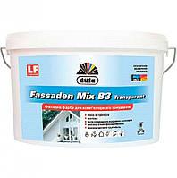 Фасадная краска для компьютерной колеровки Fassaden Mix B3 Transparent 1 л
