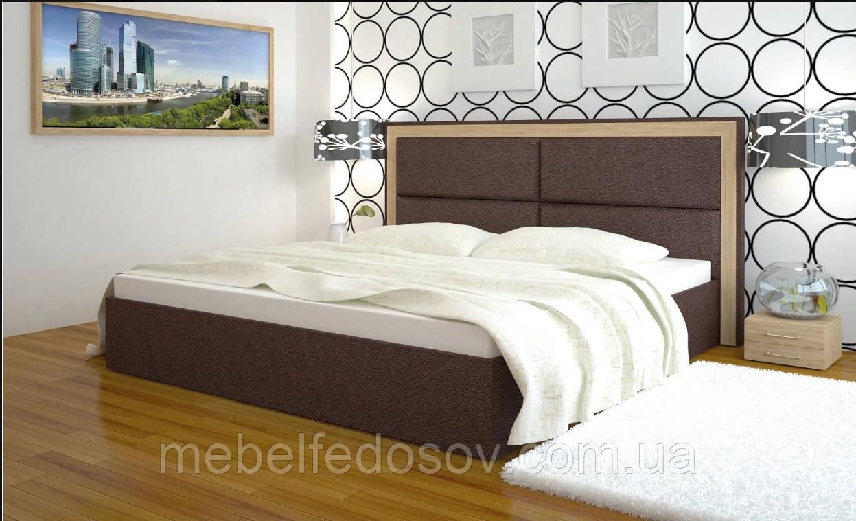 Ліжко дерево Міленіум двоспальне 180 (Арбор)