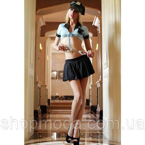 Сексуальный игровой костюм полицейской, фото 2