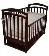 Детская кроватка Верес Соня ЛД 6 (орех)