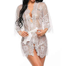 Кружевной халатик Женская одежда домашняя, фото 2