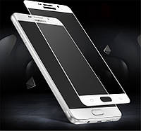 Защитное стекло Full Cover для Samsung Galaxy A5 2017 Белое