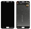 Дисплей (екран) для Samsung G610 Galaxy J7 Prime, SM-G610 Galaxy On Nxt + тачскрін, чорний, оригінал
