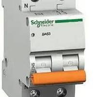 Автомат 1Р+N 63А Schneider (Домовой)