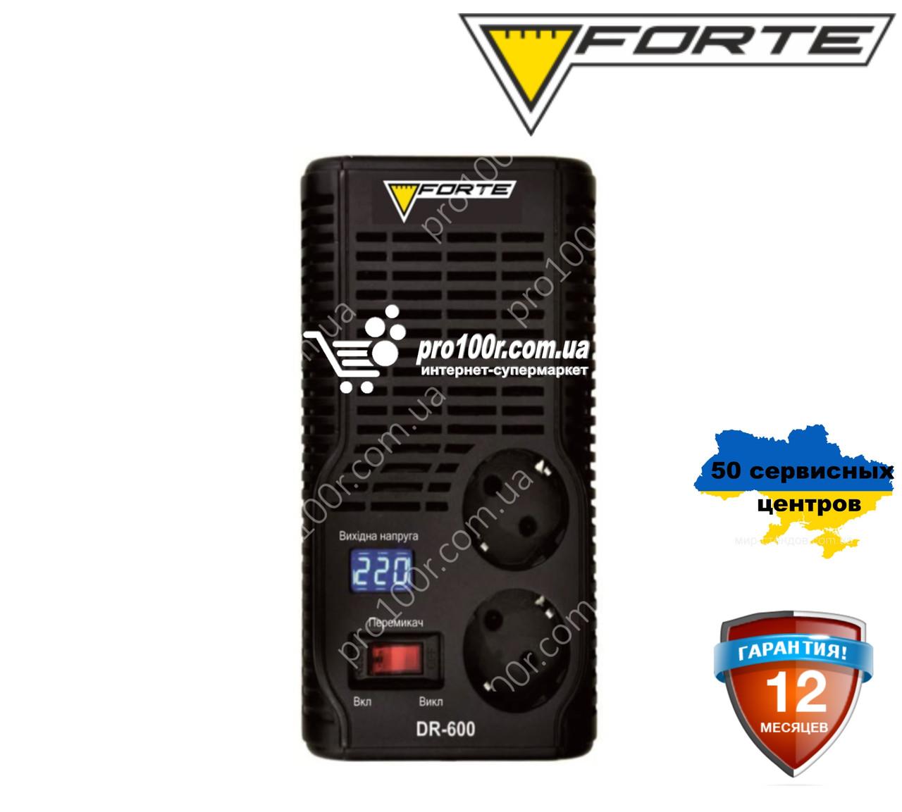 Стабилизатор напряжения Forte DR600