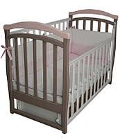 Детская кроватка Верес Соня ЛД 6 (капучино-розовый)