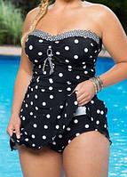Женский купальник платье.Купальное платье размер от S-5XL