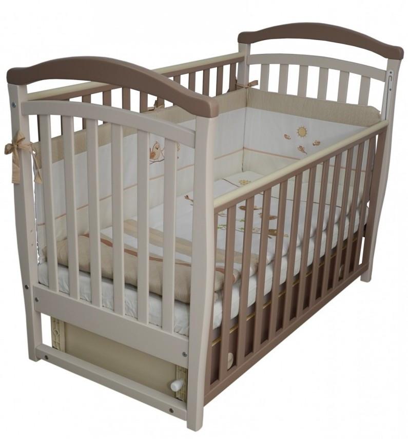 Детская кроватка Верес Соня ЛД 6 (капучино)