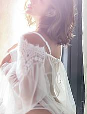 Кружевной прозрачный  пеньюар Домашняя одежда, фото 2