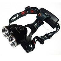 Налобный фонарь Bailong BL-T25-2xT6 (BL-T25-2xT6)
