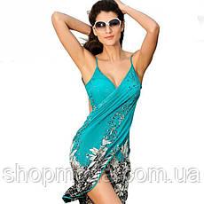 Пляжная накидка Парео Одежда для моря Платье для отдыха, фото 2