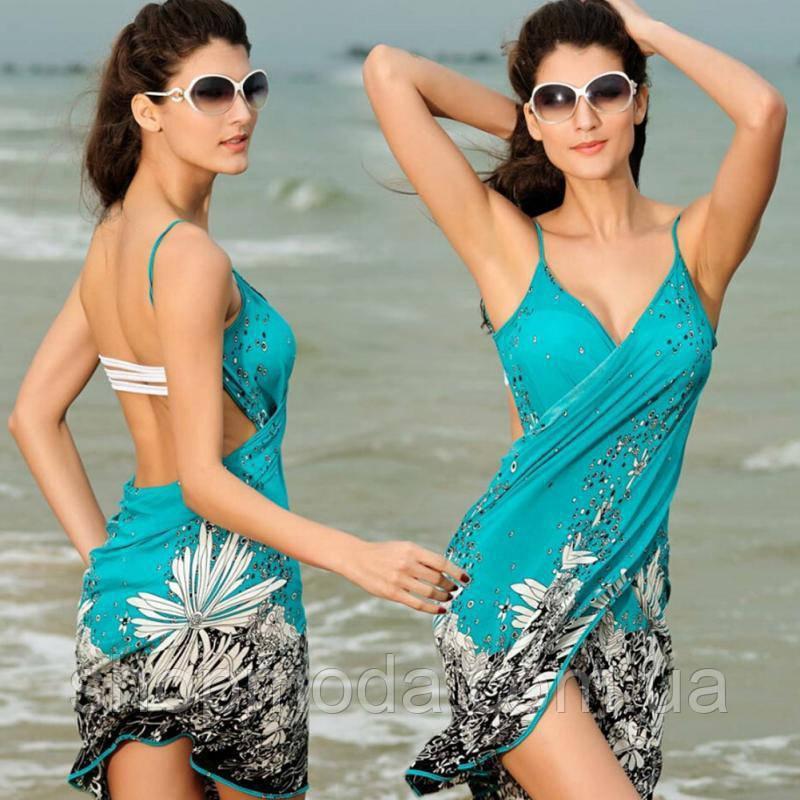 Пляжная накидка Парео Одежда для моря Платье для отдыха