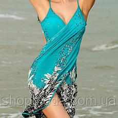 Пляжная накидка Парео Одежда для моря Платье для отдыха, фото 3