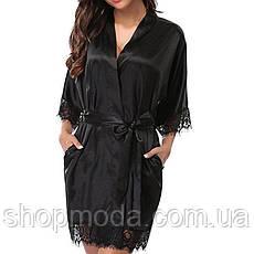 Модный халат с кружевами Эротический халат Эротическое белье, фото 3