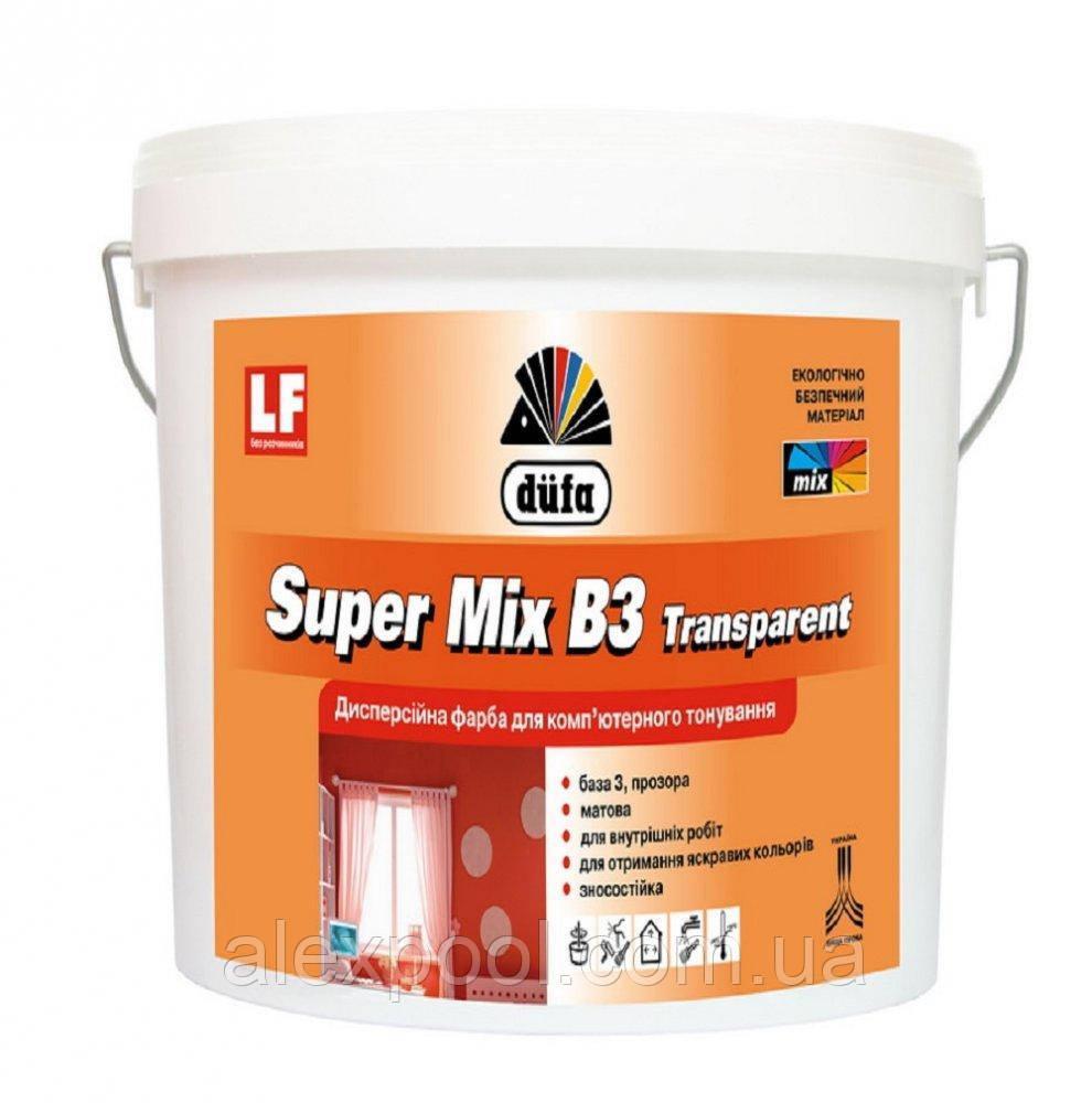 Фарба базова Dufa Super Mix B3 transparent 2,5 л