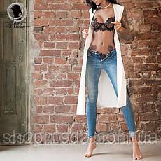 Эротическое белье. Кружевное белье бюстик и стринги. В подарок чулки., фото 3