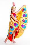 Детский карнавальный костюм для девочки Жар-птица 122-140р, фото 4