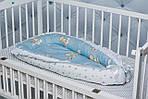 """Кокон-гнездышко для новорожденного""""Мишки"""", фото 2"""