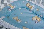 """Кокон-гнездышко для новорожденного""""Мишки"""", фото 4"""