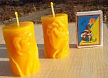 """Восковая свеча """"Тюльпан"""" из натурального пчелиного воска, фото 7"""