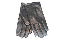 Черные кожаные перчатки Finnemax