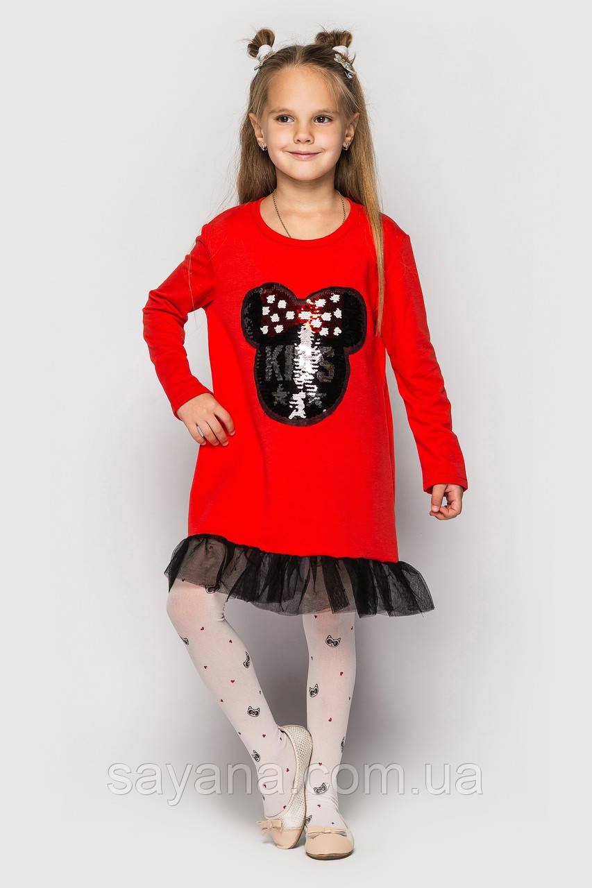 """Детское платье """"Bonny CHM"""" с декором в расцветках. ЛА-5-1118"""