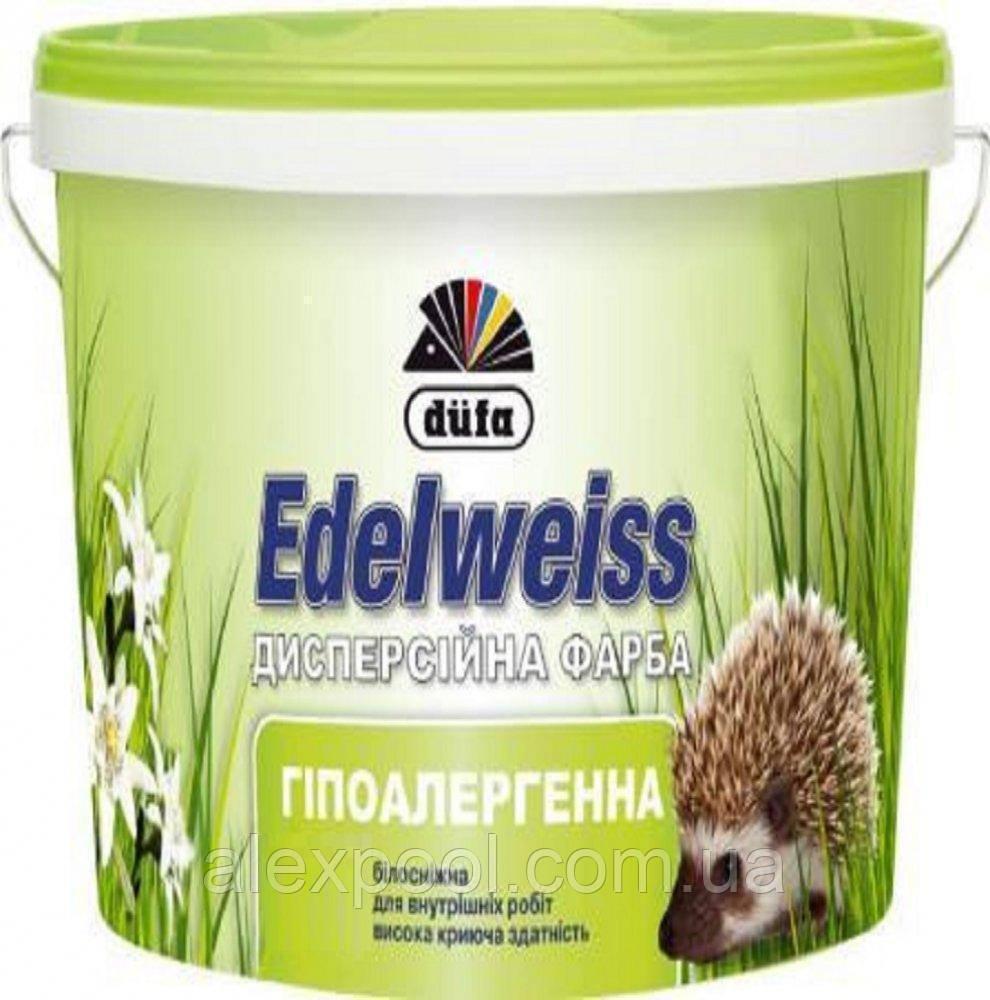 Гіпоалергенна дисперсійна фарба Edelweiss D601 5 л