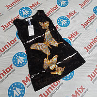 Детские платья для девочек с паеток оптом JOLIE MISS, фото 1